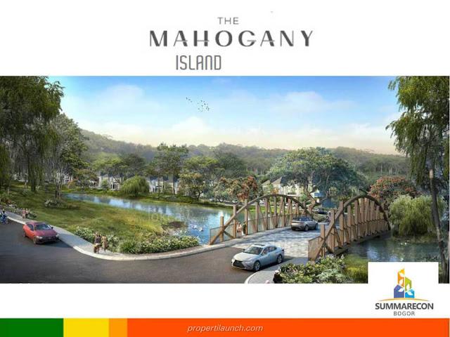 Jembatan The Mahogany Island