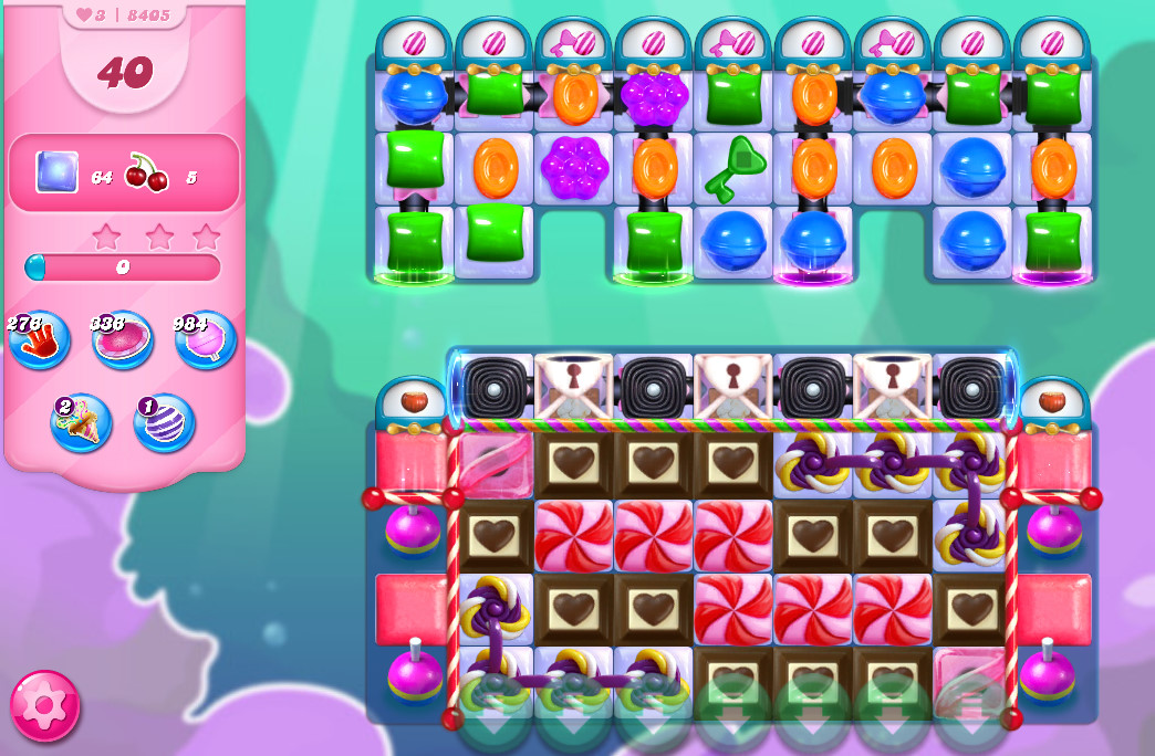 Candy Crush Saga level 8405