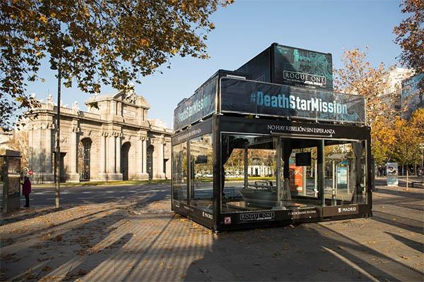Impresora 3D Estrella de la Muerte en Madrid
