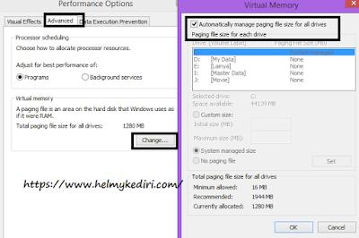 Atur manajemen file halaman