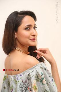 Actress Pragya Jaiswal Stills in Floral Dress at turodu Interview  0070.JPG