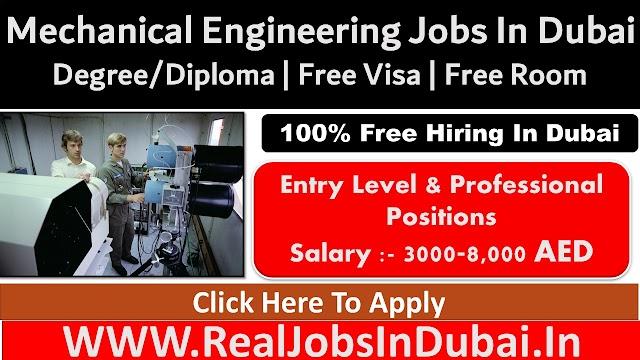 Mechanical Engineering Jobs In Dubai - UAE 2021