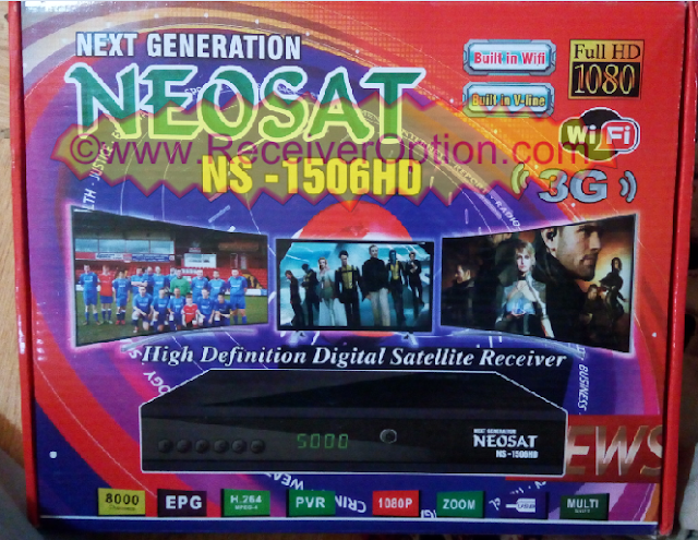 NEOSAT-NS1506HD BUILT IN WIFI HD RECEIVER FLASH FILE