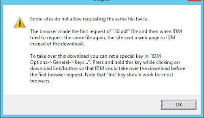 حل مشكلة عدم قدرة برنامج IDM من التحميل من بعض المواقع