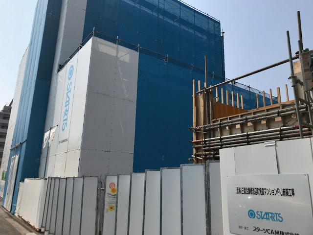 開発状況をお知らせ!ららぽーと横浜前で免振マンション建設中