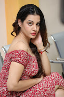 Diksha Panth in a Deep neck Short dress at Maya Mall pre release function ~ Celebrities Exclusive Galleries 035.JPG