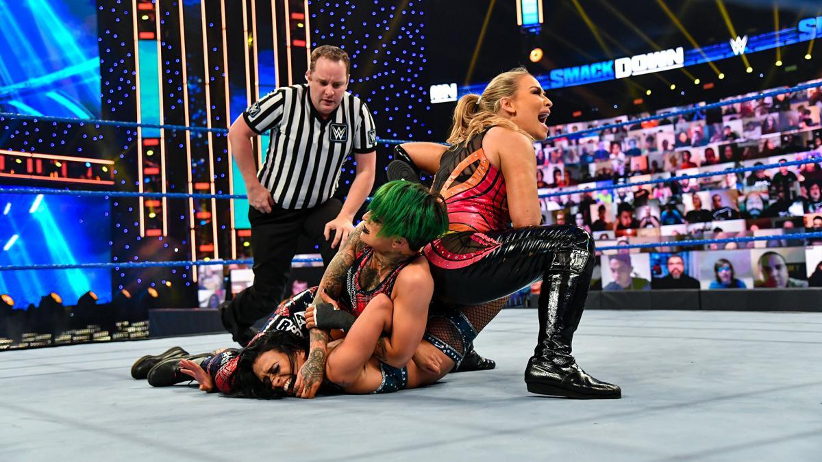 Ruby Riott se junta a Bianca Belair no time feminino do SmackDown
