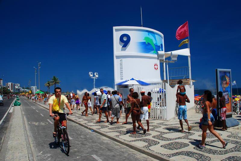 Posto 9 на пляже Ипанема