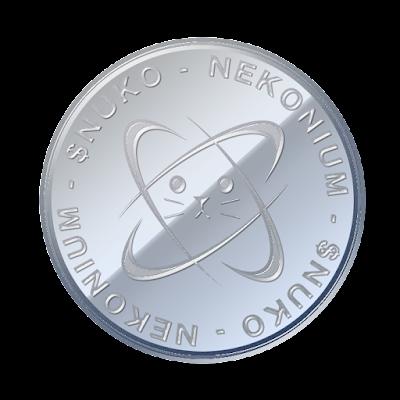 ネコニウム(Nekonium)のフリー素材(アルミver)