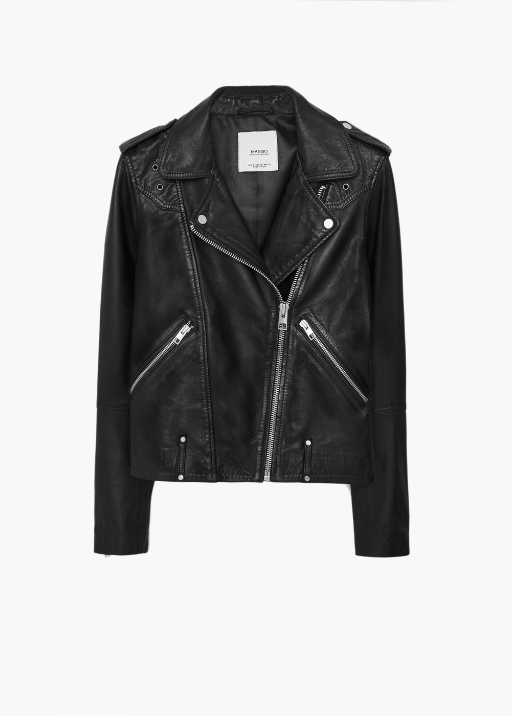 ac0db90d3c11 Leather Jacket ...is always a must in your wardrobe!