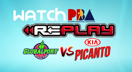 Video List: GlobalPort vs Kia game replay February 21, 2018 PBA Philippine Cup