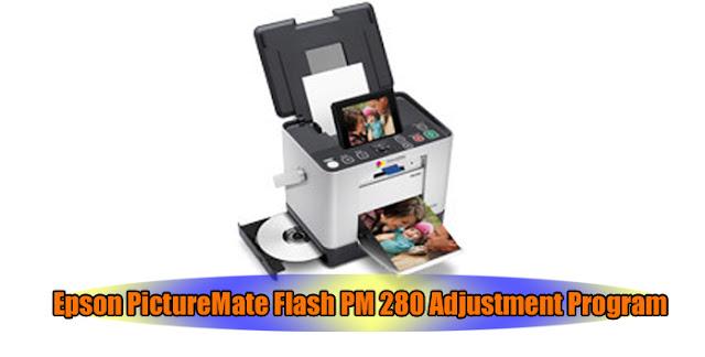 Epson PictureMate Flash PM 280 Printer Adjustment Program