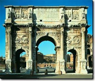 Resultado de imagen de arco de triunfo de teodosio