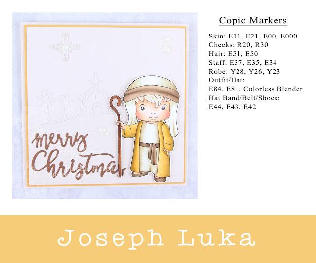 Heather's Hobbie Haven - Joseph Luka Card Kit
