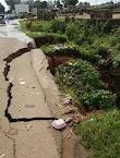 Motorists In Fear As Bridge Cracks In Barnawa