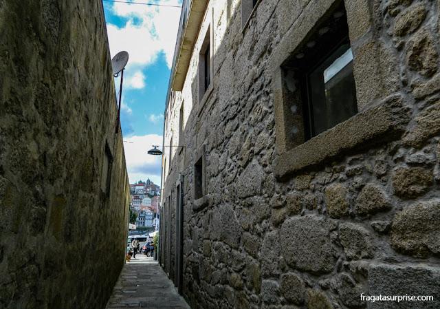 Rua em Vila Nova de Gaia, Portugal