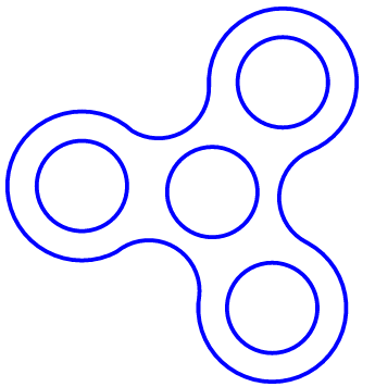 Refreshing image pertaining to fidget spinner template printable
