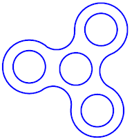 Soft image in fidget spinner templates printable