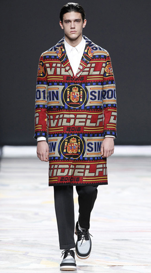 abrigos bufandas David Delfín otoño Invierno 2016-2017
