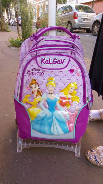 cartable princesse a roulettes