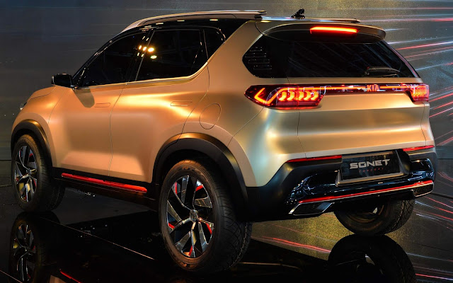 Kia Sonet, concorrente do T-Cross, é confirmado para 2020