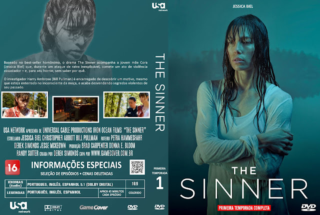 Capa DVD The Sinner Primeira Temporada [Exclusiva]
