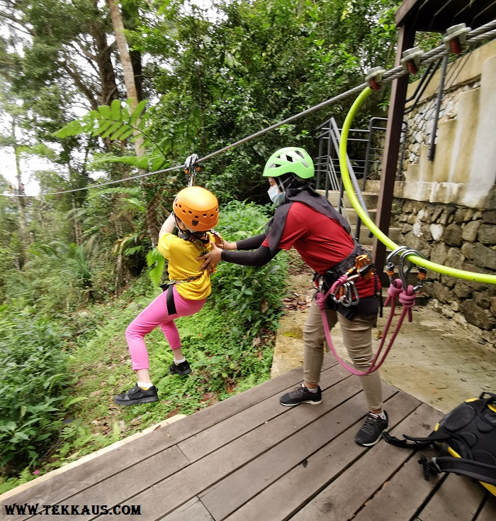 Penang Zipline Activity Safety Guides Friendly Professional