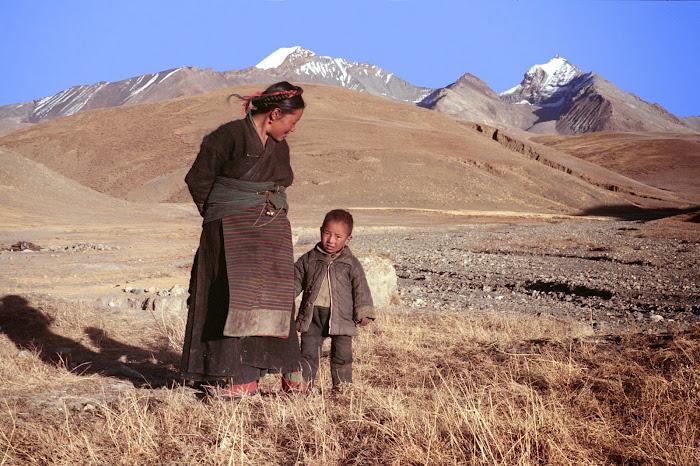 Tibet, Longma, © L. Gigout, 1990