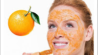 beauty benefits of oranges,orange peel face mask