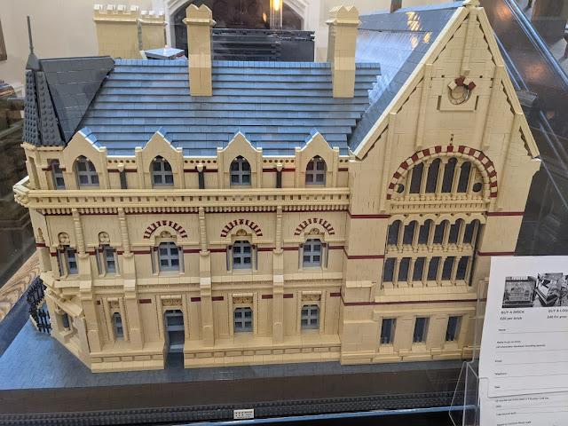 The Common Room , Newcastle  LEGO model