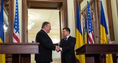 Зеленский встретился в Киеве с госсекретарем США Помпео