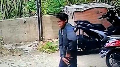 Pemuda Maling Spion di Bone Terekam CCTV, Begini Wajahnya