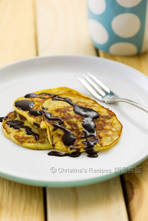 Fourless Banana Pancakes01