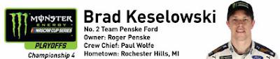 #MENCS Ford Championship Weekend at Homestead-Miami Speedway - Brad Keselowski