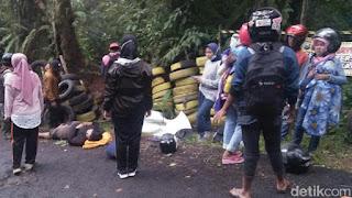 Motor Rem Blong di Jalan ke Kawah Ijen Memakan Korban, Satu Anak Tewas
