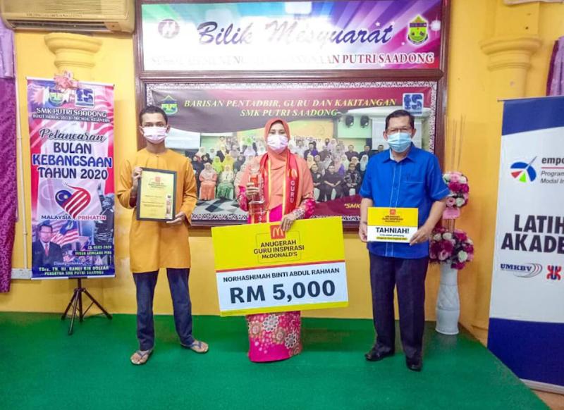 Pemenang Anugerah Guru Inspirasi McDonalds 2021 - Kisah Inspirasi Cikgu Hashimah Ikhlas Tabur Jasa Hingga Murid Menangis Terharu