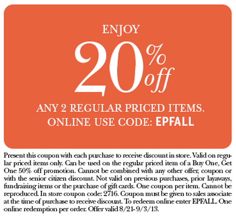 picture about Dress Barn Coupon Printable named Costume barn 20 off printable coupon - Coupon processing providers