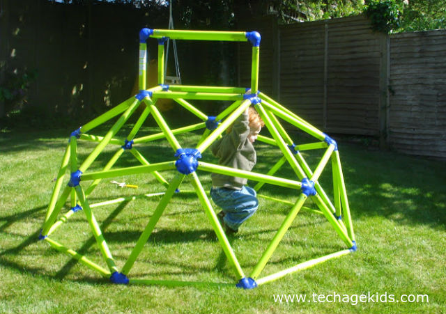 Geodesic Dome Climbing Frames for Little Kids and Big Kids