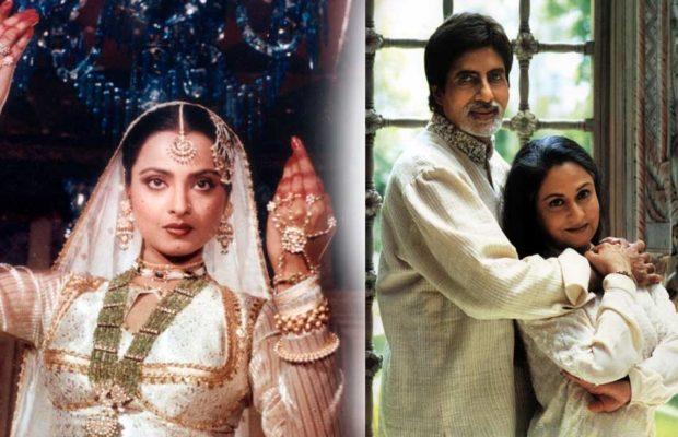 Rekha, Jaya Bachchan, Amitabh Bachchan