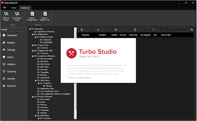 Screenshot Turbo Studio 20.3.1307.2 Full Version