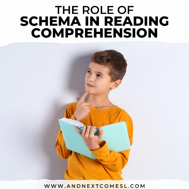 What is schema in reading comprehension? Tips for activating background knowledge during reading