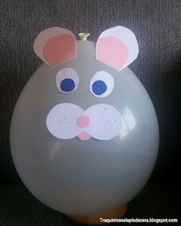 Decorações para a Páscoa com balões