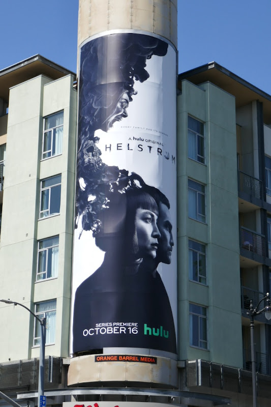 Helstrom Hulu series billboard