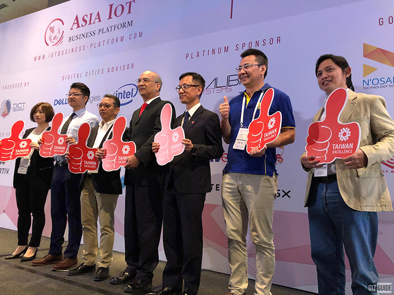 Taiwan Excellence executives present in the 2-day exhibit