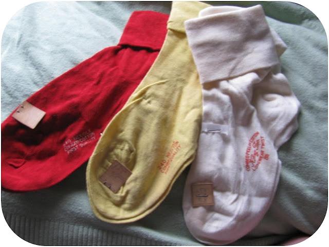 vintage 1950s deadstock bobby socks via Va-Voom Vintage