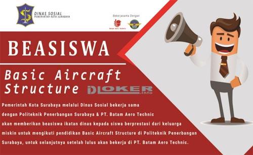Beasiswa Pendidikan Basic Aircraft Structure Politeknik Penerbangan Surabaya | Ikatan Dinas