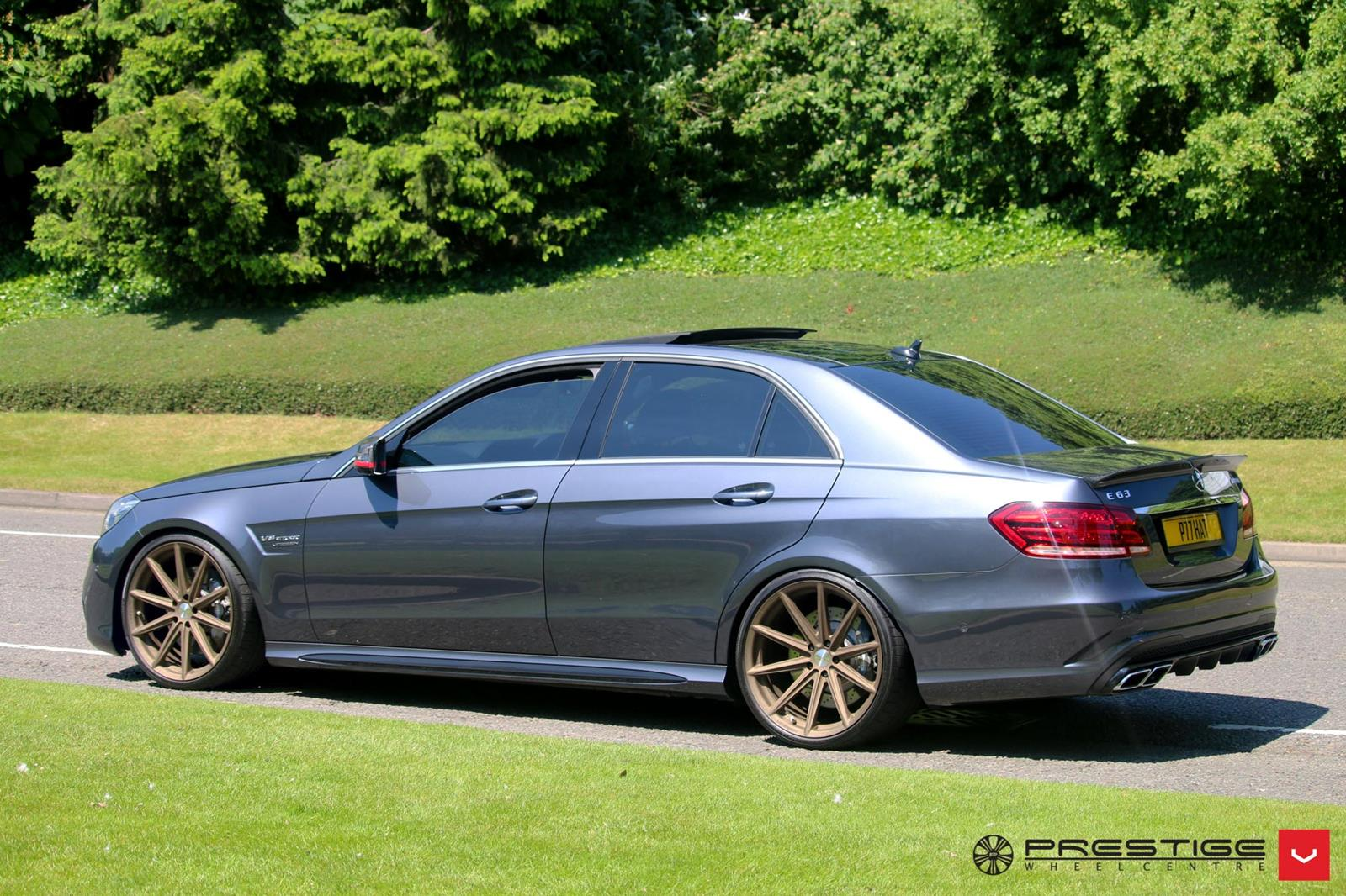 Mercedes benz w212 e63 amg on vossen vfs10 wheels benztuning for Mercedes benz wheel