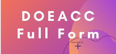 DOEACC full meaning