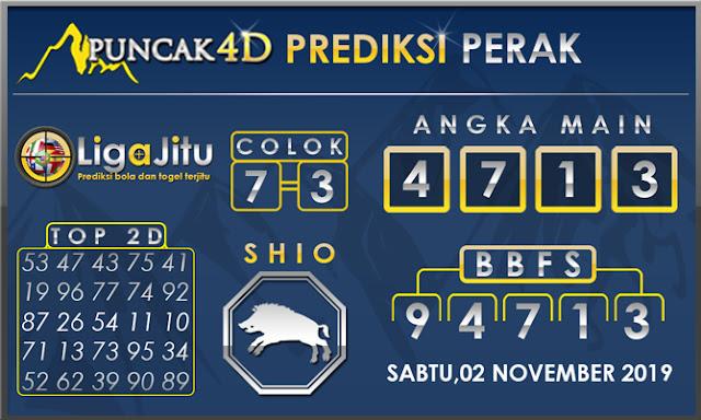 PREDIKSI TOGEL PERAK PUNCAK4D 02 NOVEMBER 2019