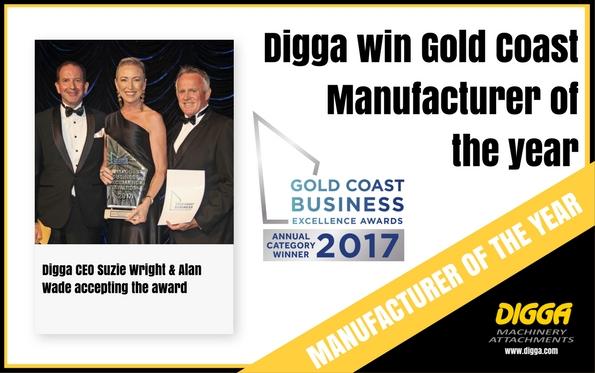 Manufacturing award - Digga Australia